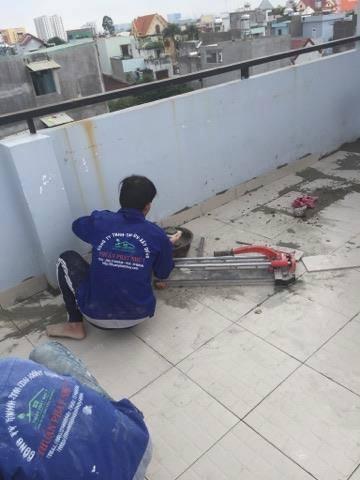 Dịch vụ ốp lát gạch tại TPHCM