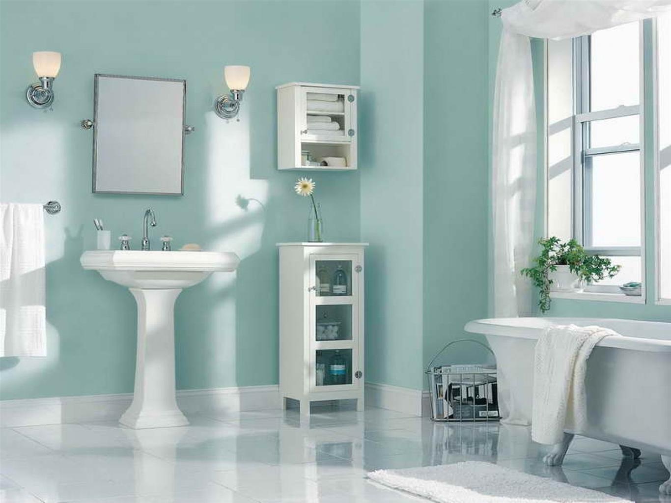 sơn nhà màu xanh ngọc bích