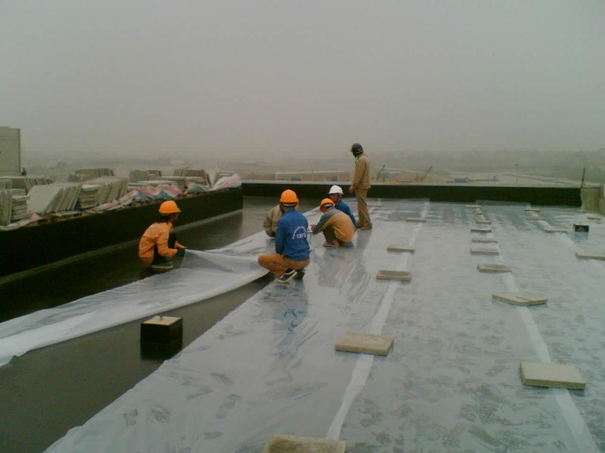 hóa chất chống thấm sân thượng