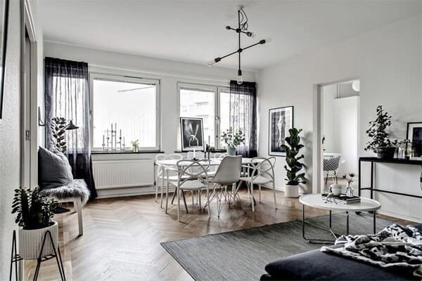 Phong cách thiết kế nội thất Bắc Âu